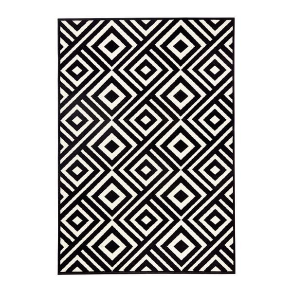 Čierno-biely koberec Zala Living Art, 70×140cm