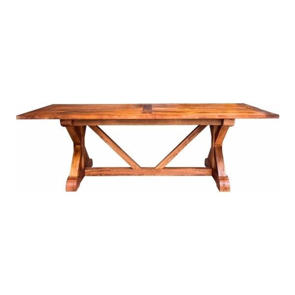 Jídelní stůl z mangového dřeva Støraa Ventura,220x100cm