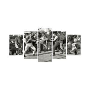 Vícedílný obraz Black&White no. 88, 100x50 cm