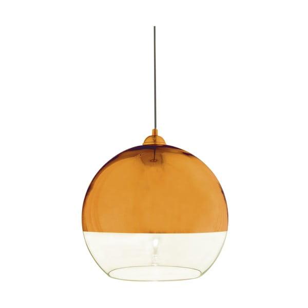 Závěsné svítidlo Scan Lamps Lux Copper, ⌀35 cm