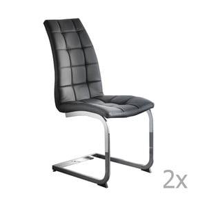 Set 2 scaune 13Casa Cheney, negru