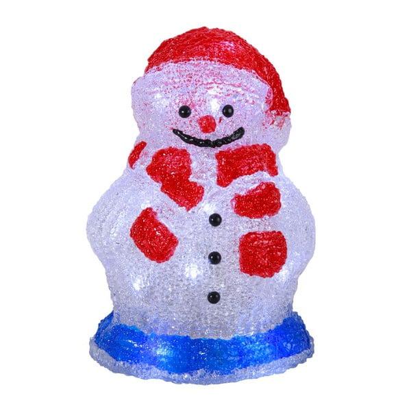 Svítící dekorace Crystal Snowman 16