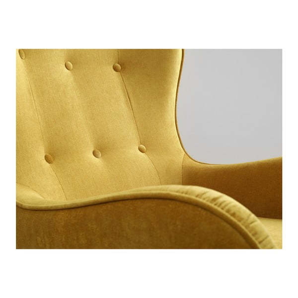 Žluté křeslo Custom Form Cozyboy