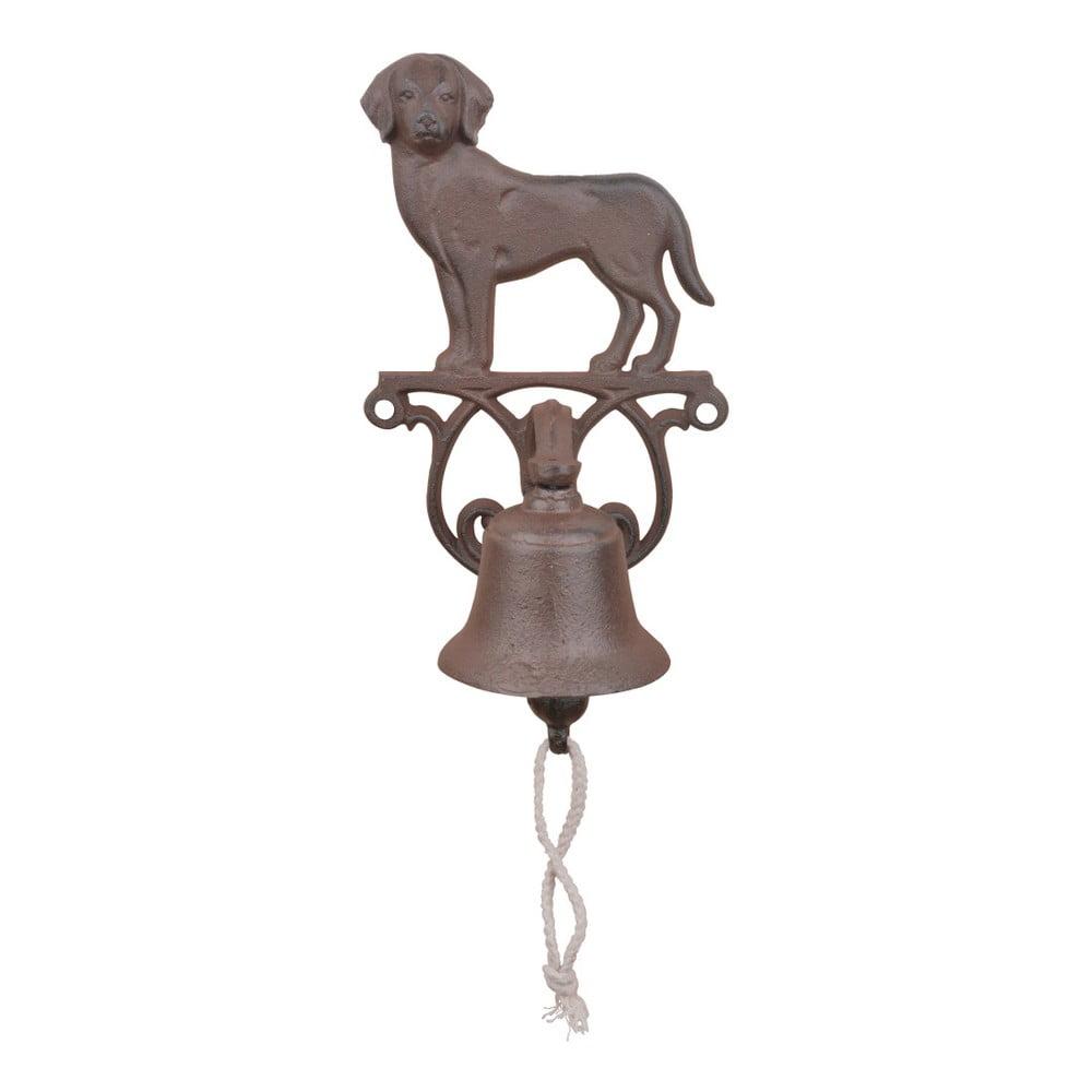 Litinový zvonek s motivem psa Esschert Design