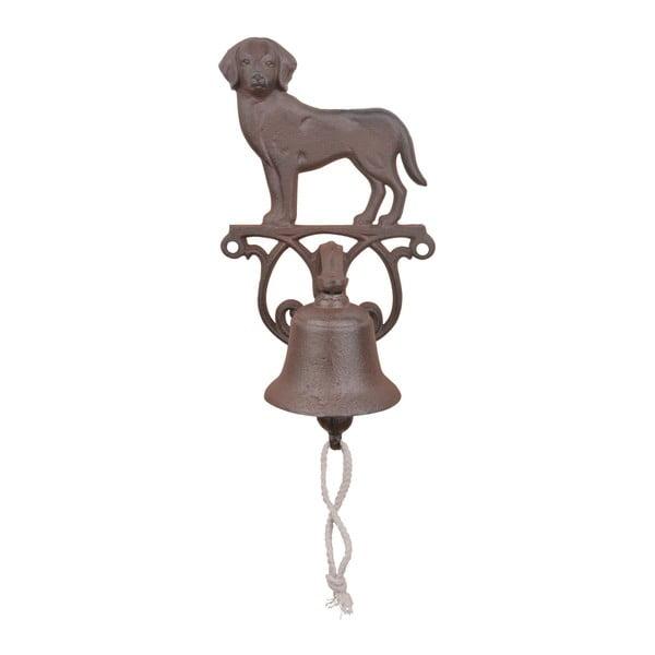 Litinový nástěnný zvonek s motivem psa Esschert Design