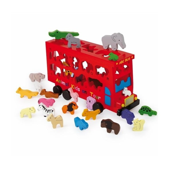 Puzzle Legler ABC Bus