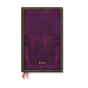 Diář na rok 2019 Paperblanks Cordovan, 13,5 x 21 cm