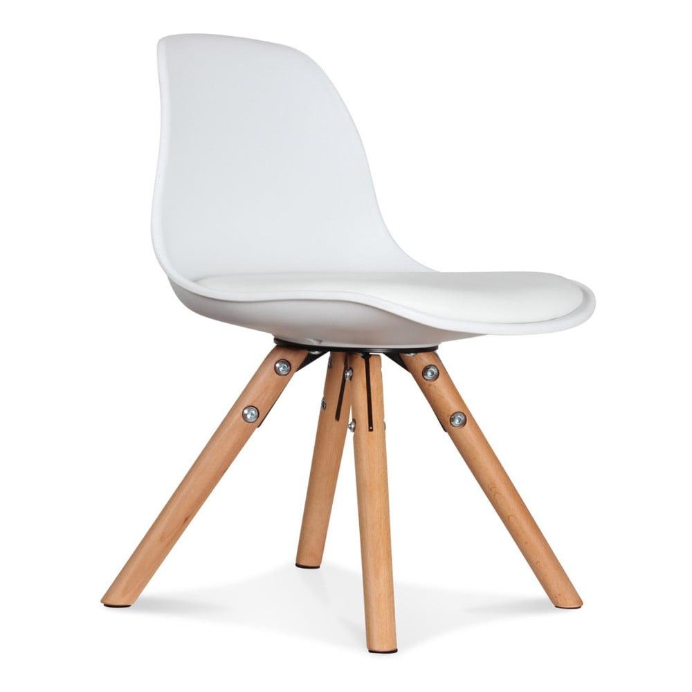 Sada 2 bílých židlí Opjet Paris Scandinave Chaise