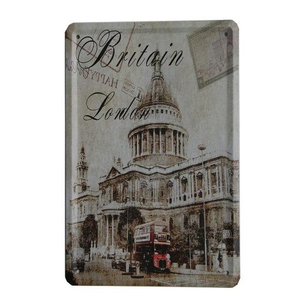 Cedule Britain London, 15x21 cm