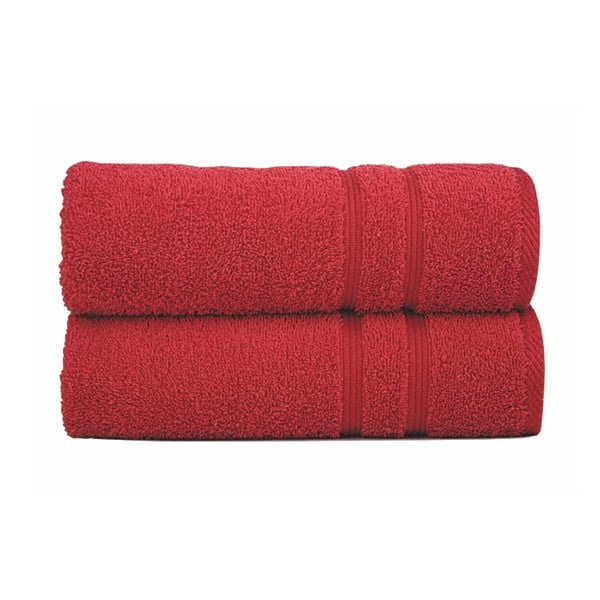 Osuška Sorema Basic Red, 50x100 cm