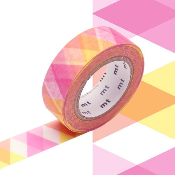 Taśma dekoracyjna washi MT Masking Tape Patricia, dł.10m