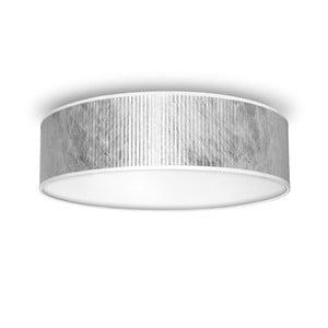 Plafonieră Bulb Attack Tres, diametru 40 cm, argintiu