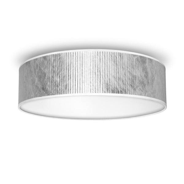 Tres ezüstszínű mennyezeti lámpa, ⌀ 40 cm - Bulb Attack