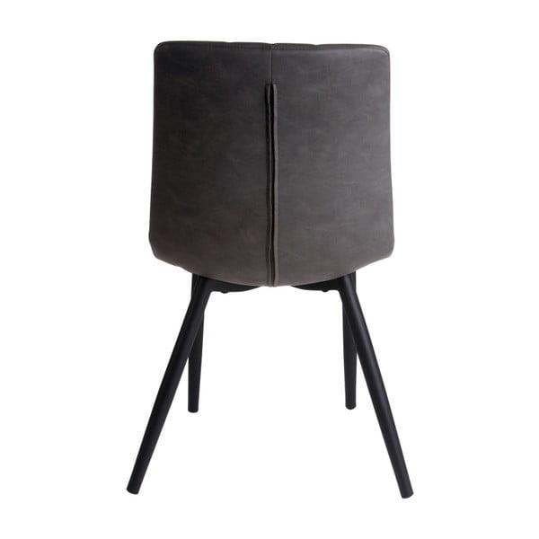 Šedá jídelní židle Karlsson Raw