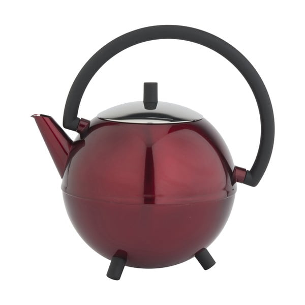 Ceainic Saturn, 1.2 l, roșu metalic