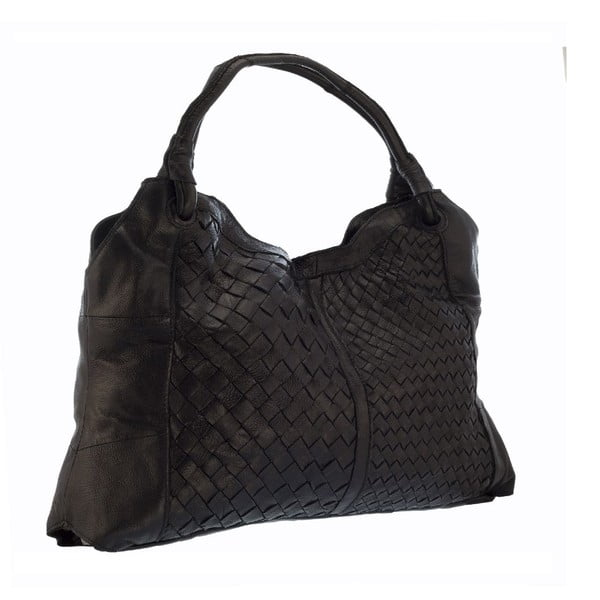 Kožená kabelka Lisa Minardi 9998 Black