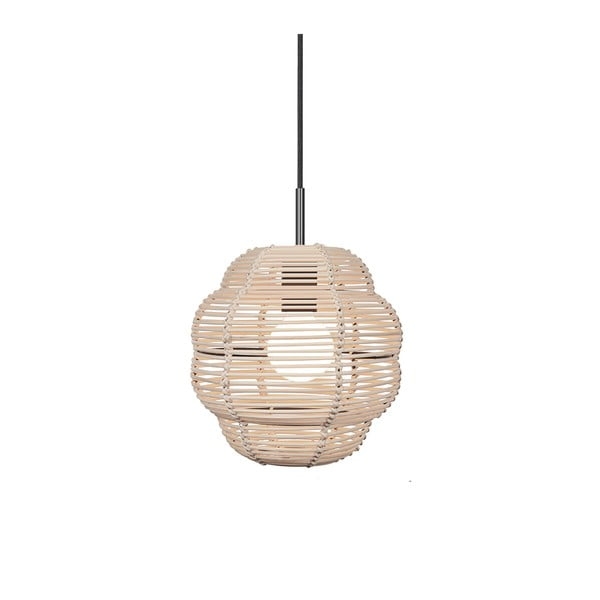 Lampa wisząca Globen Lighting Wagner Nature, ø 25 cm