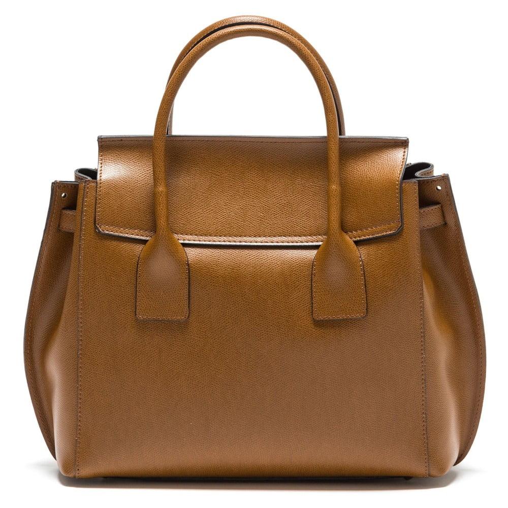 Koňakově hnědá kožená kabelka Isabella Rhea no. 479  dd6880ede65