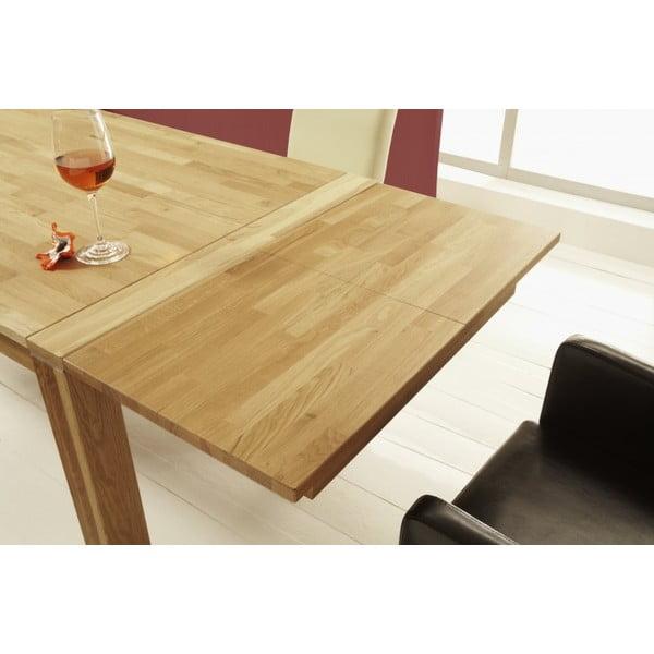 Rozkládací jídelní stůl Oiled Beech, 140 až 220 cm