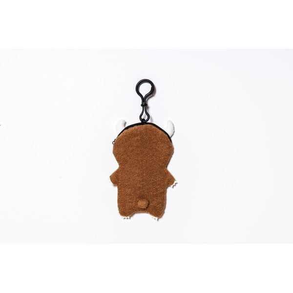 Plyšový obal na telefon, MP3 či klíče Brown Ricemon