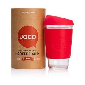 Cestovní hrnek na kávu Joco Cup 454 ml, červený