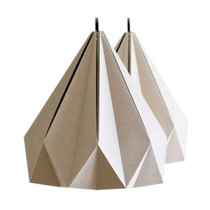 Origamica lustr Spring Light For Two Elegant Grey
