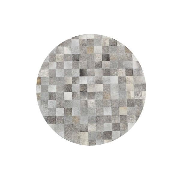Covor din piele naturală Sao Paulo Grey, 150 cm
