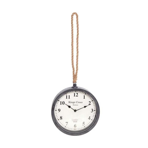 Nástěnné hodiny InArt Savier, černé