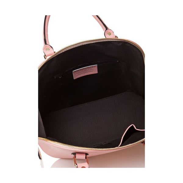 Kožená kabelka Miranda, růžová