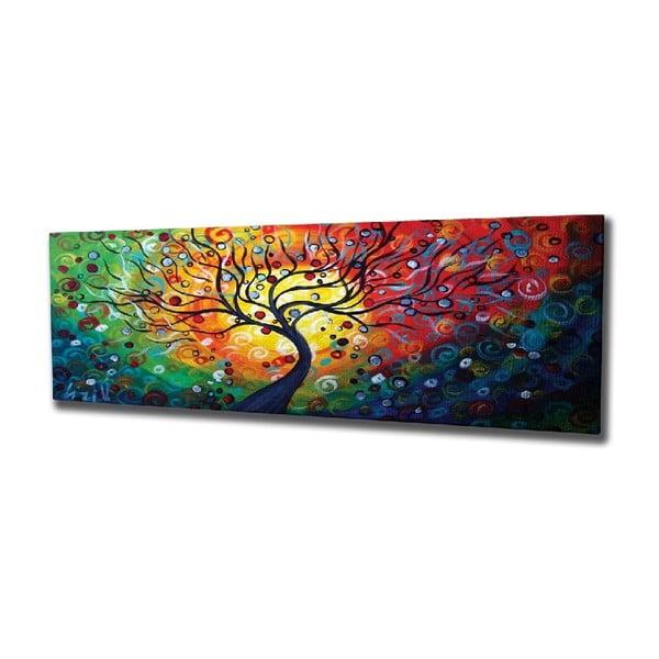 Nástěnný obraz na plátně Tree, 80 x 30 cm