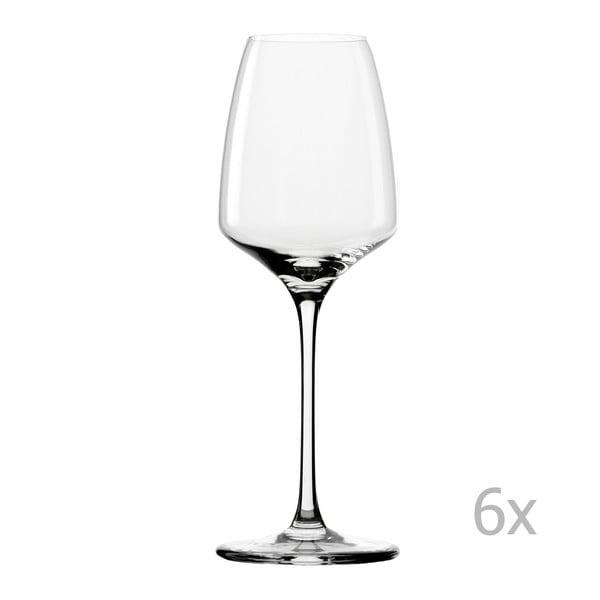 Sada 6 sklenic na bílé víno Stölzle Lausitz Experience Wine, 285 ml
