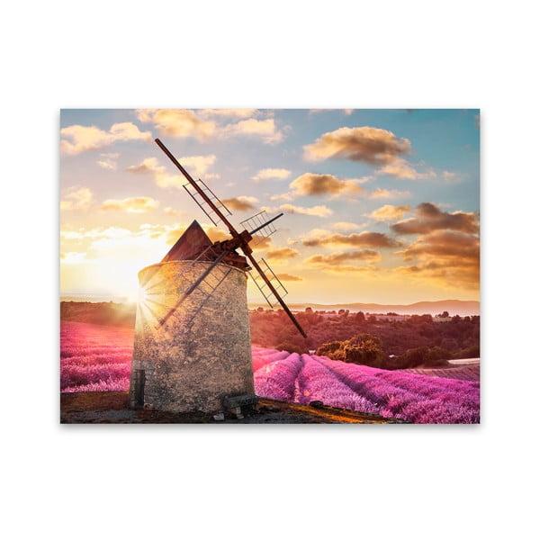 Tablou imprimat pe pânză Styler Windmill, 115 x 87 cm