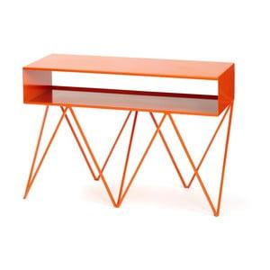 Oranžový příruční stolek &New Robot Too