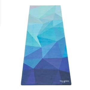 Podložka na jógu Yoga Design Lab Commuter Lapis, 1,3kg