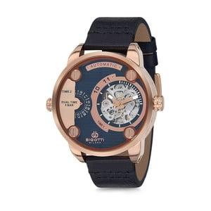 Pánské hodinky s koženým řemínkem Bigotti Milano Oceania