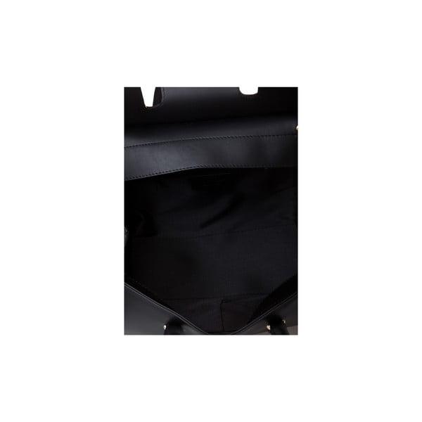 Kožená kabelka Markese 5156, černá