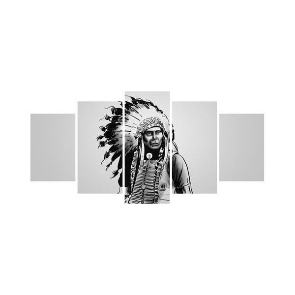 Vícedílný obraz Black&White no. 80, 100x50 cm
