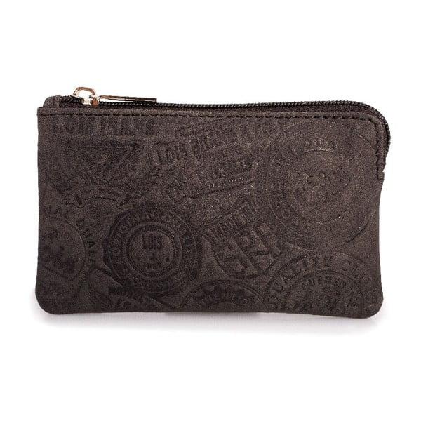 Kožená peněženka na mince Lois Brownie, 11x6,5 cm