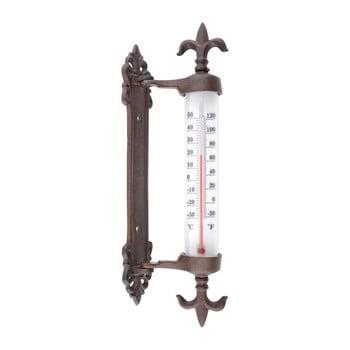 Termometru din fontă pentru fereastră Esschert Design Antique imagine