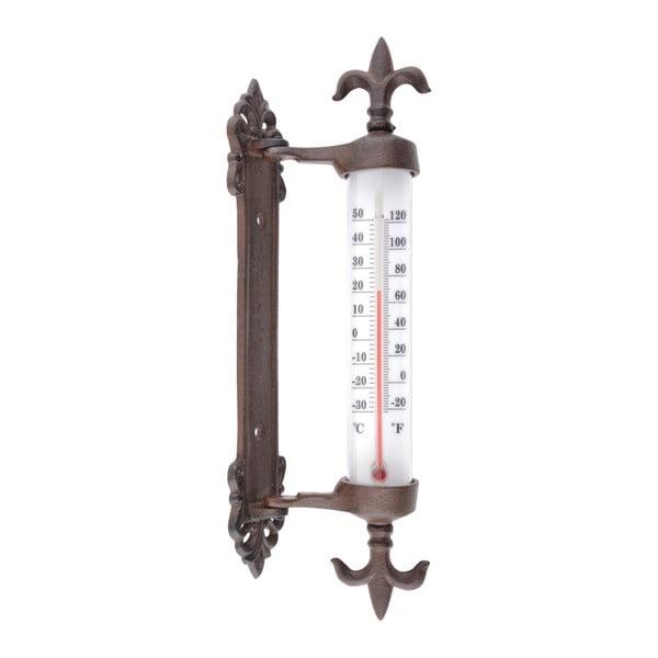 Żeliwny termometr zewnętrzny Esschert Design Antique