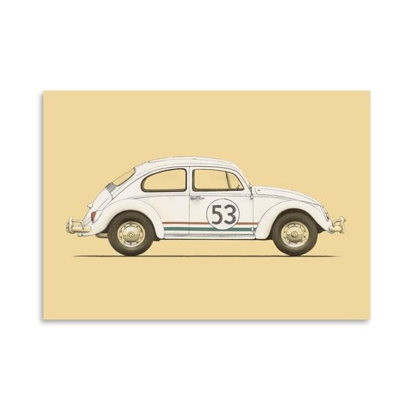 Plakát Beetle od Florenta Bodart, 30x42 cm