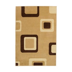 Covor Think Rugs Diamond, 80 x 140 cm, bej