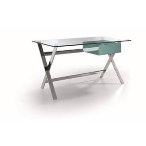 Pracovní stůl s tyrkysovou zásuvkou Ángel Cerdá Concha