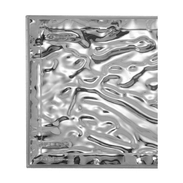 Tác Kartell Dune Chrome, 38x55 cm