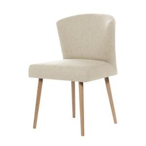 Krémová jídelní židle My Pop Design Richter