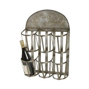 Držák na víno ze zinku Antic Line Vin