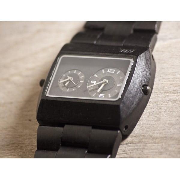 Dřevěné hodinky Jupiter Black