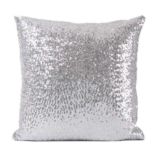 Povlak na polštář s flitry ve stříbrné barvě Minimalist Cushion Covers, 40 x 40 cm