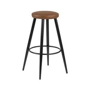 Sada 2 hnědých barových židlí Actona Hector