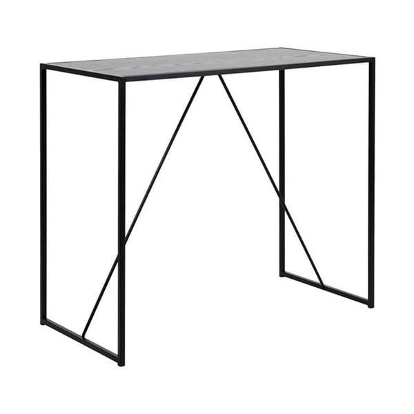 Seaford fekete bárasztal - Actona